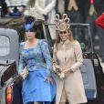 Les princesses Eugenie et Beatrice au mariage de William et Kate, à Londres, le 29 avril 2011.