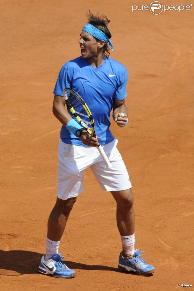 Rafael Nadal a battu Roger Federer lors de la finale de Roland Garros, le 5 juin 2011. Ici en demi-finale contre Andy Murray, le 3 juin 2011