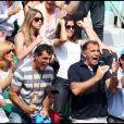 Francisca 'Xisca' Perello, dimanche 5 juin 2011, était au sein du clan de Rafael Nadal pour voir l'Espagnol soulever sa sixième Coupe des Mousquetaires.