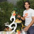 Le 3 juin 2011, à deux jours de sa finale et de son sixième sacre à Roland-Garros, Rafael Nadal fêtait son 25e anniversaire. Le cadeau allait suivre.