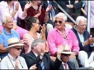 Jean-Paul Belmondo et Barbara, unis, et les autres couples stars admirent Nadal!