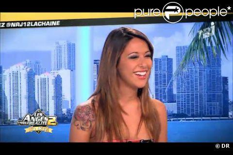 Daniela se confie à Matthieu Delormeau et Jeny Priez sur le plateau des Anges de la télé-réalité : Miami Dreams sur NRJ 12