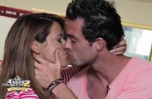 Anges de la télé-réalité 2 : John embrasse son ex Daniela devant Caroline !