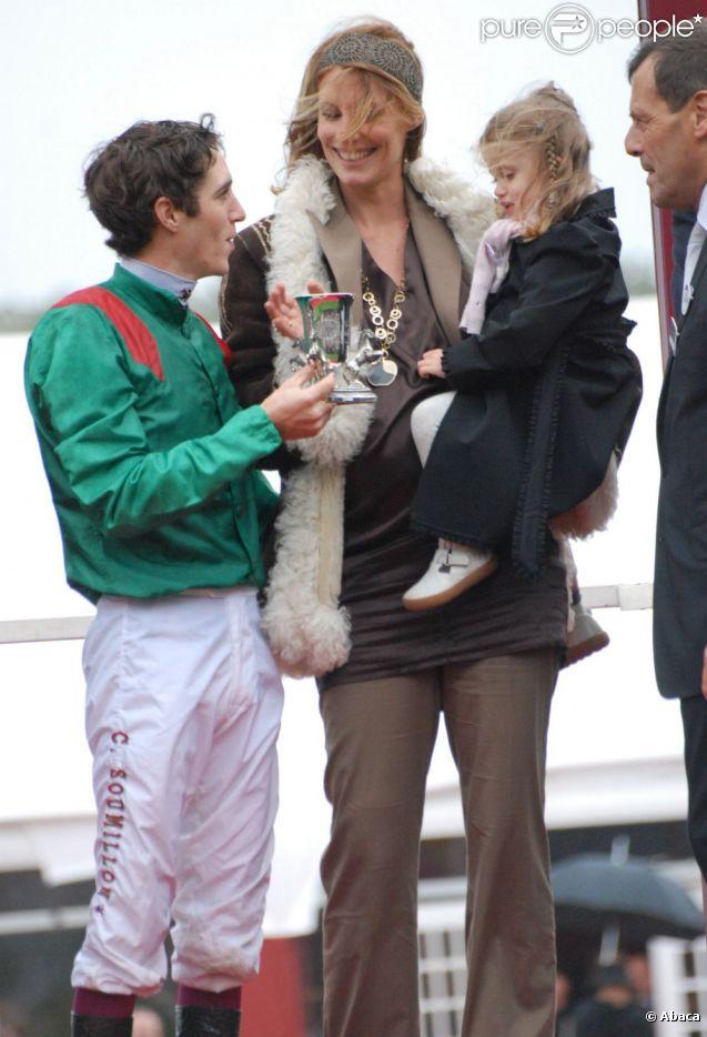 Sophie thalmann christophe soumillon et leur petite charlie en octobre 2008 - Sophie thalmann charlie soumillon ...