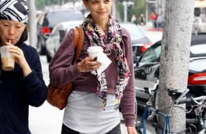 Katie Holmes : Look négligé pour shopping effréné