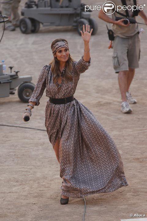 Jennifer Lopez sur le plateau de Wetten Dass à Palma de Majorque, en espagne le 18 juin 2011