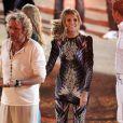 Heidi Klum pour la dernière émission Wetten Dass... à Majorque en Espagne, le 18 juin 2011