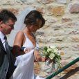 Mariage de Sydney Govou avec Clémence Catherin, à Replonges le 18 juin 2011