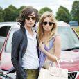 Dianna Vickers et son amoureux lors d'un match de polo caritatif, le dimanche 19 juin 2011.