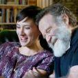 Robin Williams et Zelda Williams durant le making of de la publicité pour le jeu vidéo Zelda : Ocarina of Time 3D. Beaucoup de rires entre le père et la fille
