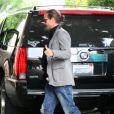 Gavin Rossdale quittant le restaurant Cecconi à Beverly Hills le 8 juin 2011