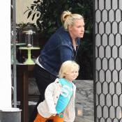 Gwen Stefani et Gavin Rossdale : Malgré son handicap, leur fils garde la pêche