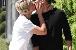 Ellen DeGeneres : Pourtant mariée, elle embrasse un homme sur la bouche