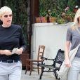 Ellen DeGeneres et sa femme Portia de Rossi à Los Angeles le 10 juin 2011