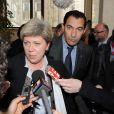 Georges El Assidi et son avocate, Me Hélène Bureau-Merlet, au tribunal de Créteil, le é2 février 2011.
