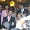 Félicitations aux jeunes mariés