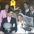 Photo de famille au mariage de Jeanne-Marie et de Gurvan