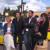 Mélanie Doutey et Gilles Lellouche, Tony Parker et Cécile de France chez Mickey!