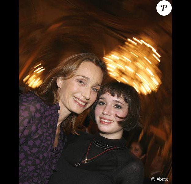 Kristin Scott Thomas et sa fille Hannah Olivennes