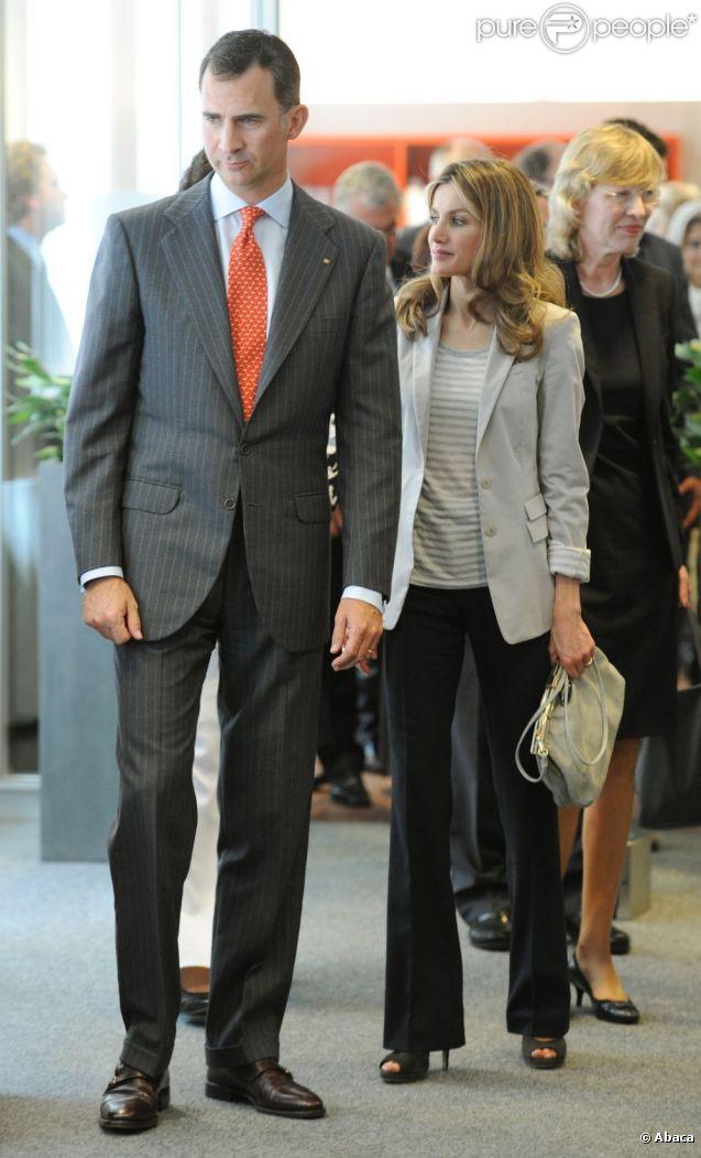 Letizia d'Espagne et Felipe à Hambourg, le 30 juin 2011