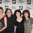 Juliette Arnaud, Christine Anglio, Corinne Puget, aux côtés d'Alexandre Arcady, en janvier 2008