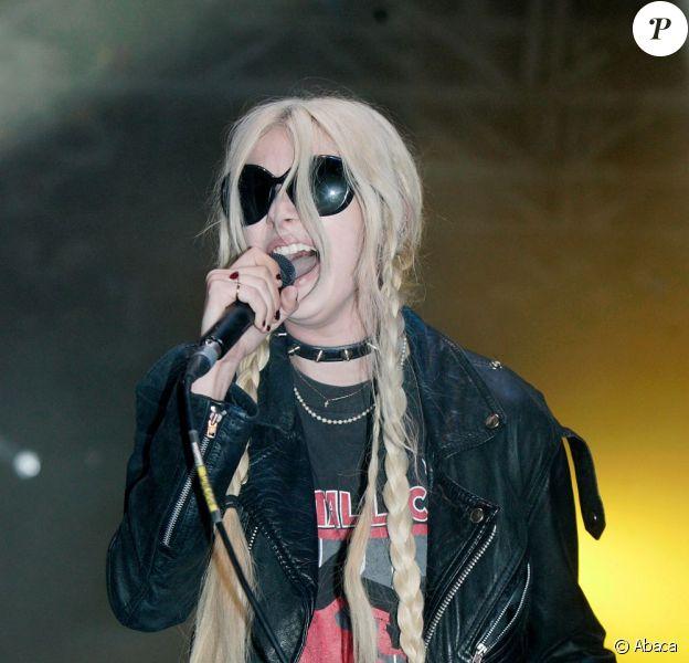 Taylor Momsen, toujours plus trash au Wireless Festival, le 3 juillet.