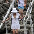 Catherine Zeta-Jones en vacances à Majorque le 3 juillet 2011