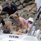 Michael Douglas et Catherine Zeta-Jones : De douces vacances en famille