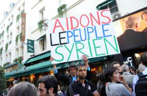 BHL, Jane Birkin et Fadela Amara unis pour soutenir la population de Syrie