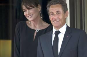 Carla Bruni, enceinte, et Nicolas Sarkozy : Leurs vacances de l'amour
