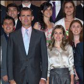 Letizia d'Espagne : Superbe mais éclipsée par son Felipe charmeur