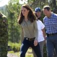 """De nouveau avec son J Brand 811, Kate Middleton fait carton plein """