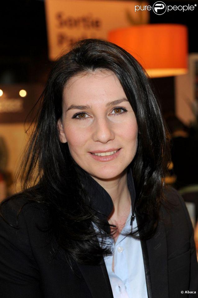 Marie Drucker au Salon Du Livre en mars 2011