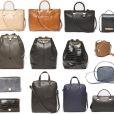Collection de sacs imaginée par Mary-Kate Olsen et Ashley Olsen pour leur ligne The Row. En vente chez Barney's.