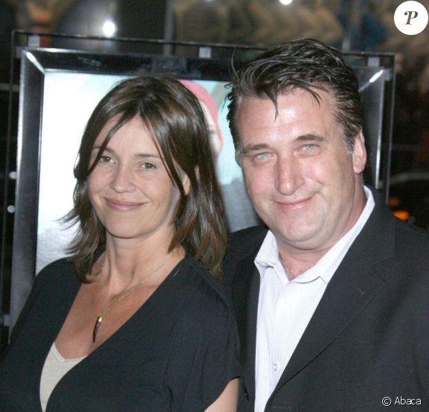 Daniel Baldwin et son épouse Joanne, alors enceinte du petit Finley, à Los Angeles en avril 2009.