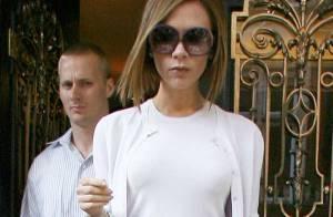 PHOTOS : Victoria Beckham : le mauve lui va si bien !