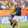 Les Suédoises ont privé les Bleues de podium lors de la petite finale du Mondial 2011, samedi 16 juillet.