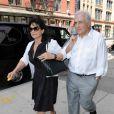Dominique Strauss-Kahn et Anne Sinclair, à New York, le 12 juillet 2011.