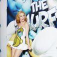 Katy Perry lors de la première mondiale des Schtroumpfs, à New York, le 24 juillet 2011.