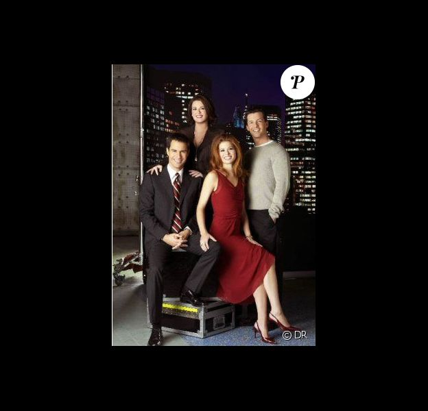 Eric McCormack, Debra Messing, Megan Mullally et Sean Hayes forment le casting de la série Will and Grace.