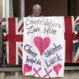 Ambiance survoltée lors du mariage de Zara Phillips et Mike Tindall, à Edimbourg, en Ecosse, le samedi 30 juillet 2011.