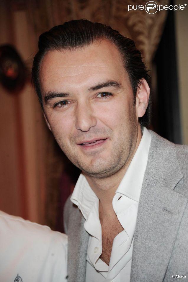 Cyril Lignac à Paris en décembre 2010