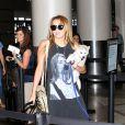 Miley Cyrus à l'aéroport de LAX, le 15 juillet 2011.