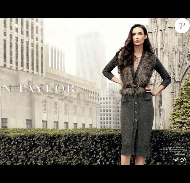 Demi Moore dans la nouvelle campagne d'Ann Taylor