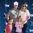 Mark Wahlberg est venu avec son épouse et ses enfants à la projection de Phineas and Ferb, à Los Angeles, le mercredi 3 août.