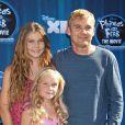 Rick Schroder est venu avec son épouse et ses enfants à la projection de Phineas and Ferb, à Los Angeles, le mercredi 3 août.