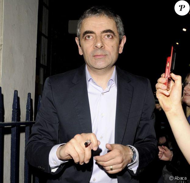 Rowan Atkinson le 8 juillet 2009 à Londres
