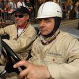 Rowan Atkinson, fou des bolides ! En mai 2011 lors d'une exposition de voitures vintage