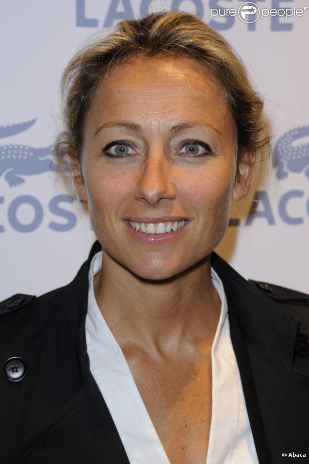 Anne-Sophie Lapix, à Paris en janvier 2011.