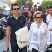 Jacques Chirac avec ses amis, Bernadette ne quitte pas son petit-fils Martin